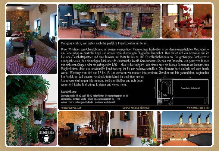 restaurant 39 wirtshaus zum oberst bchen 39 in berlin berlin tempelhof sch neberg f r feier. Black Bedroom Furniture Sets. Home Design Ideas